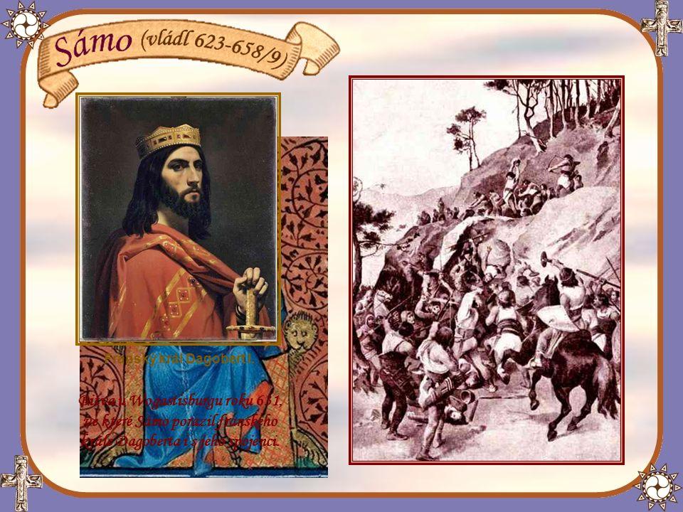 Po vítězství Sáma nad Avary zatoužil po území Slovanů