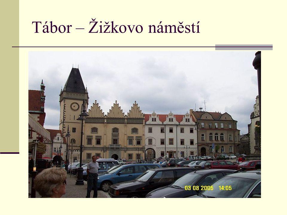 Tábor – Žižkovo náměstí