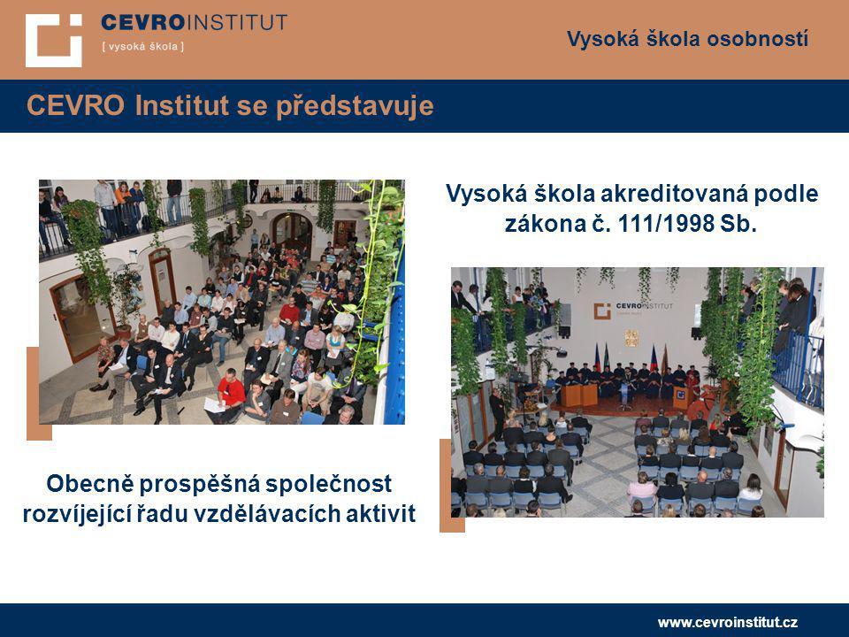 CEVRO Institut se představuje