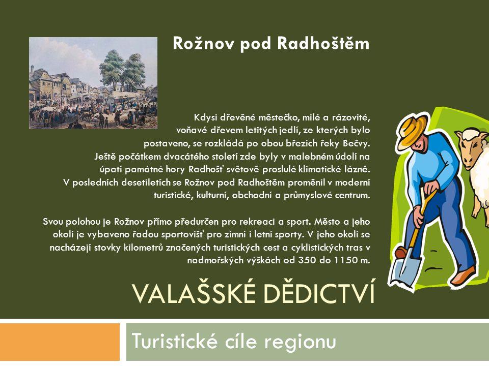 Turistické cíle regionu
