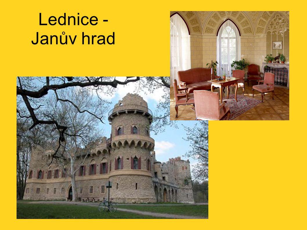Lednice - Janův hrad