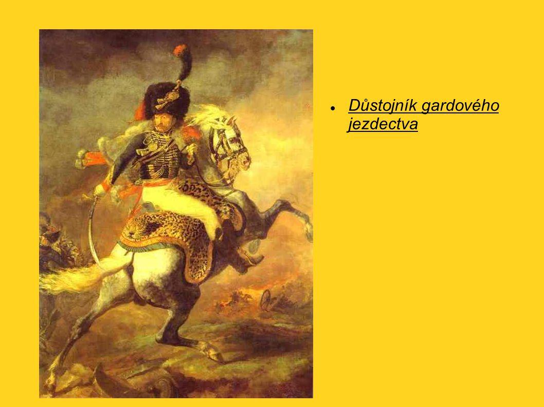 Důstojník gardového jezdectva