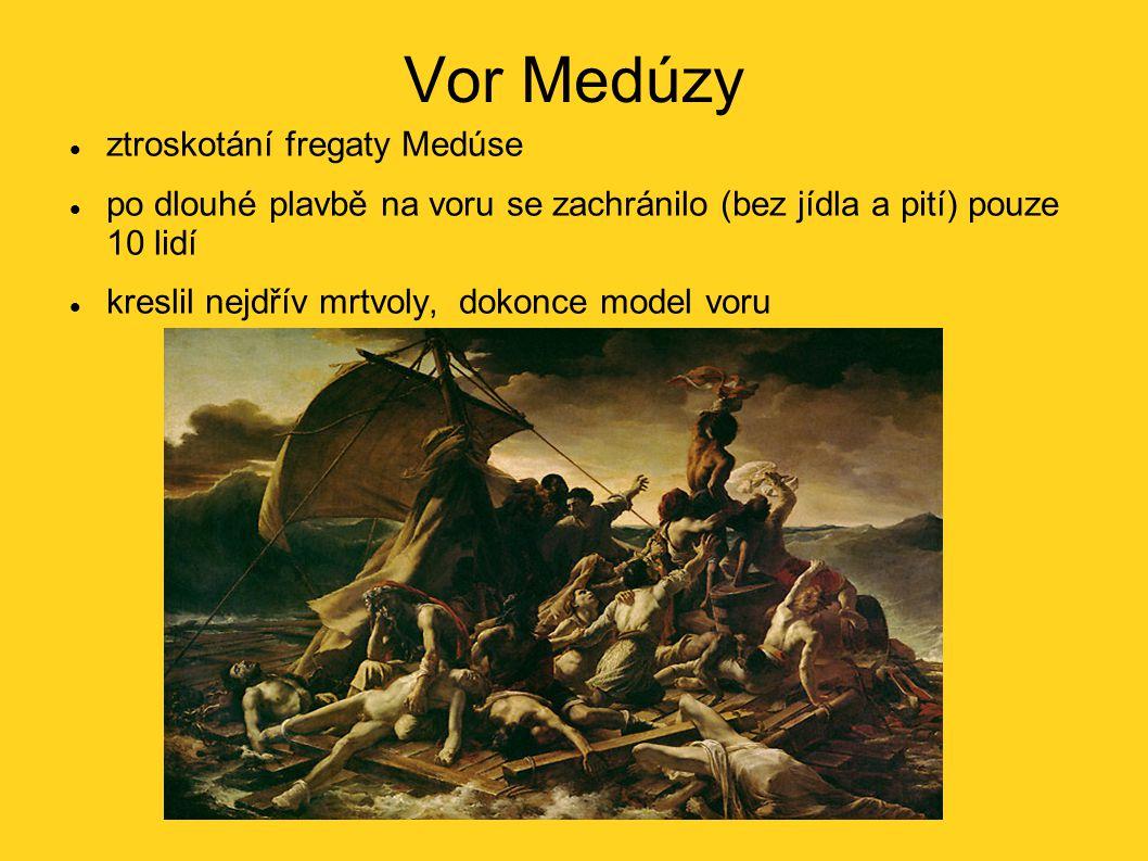 Vor Medúzy ztroskotání fregaty Medúse