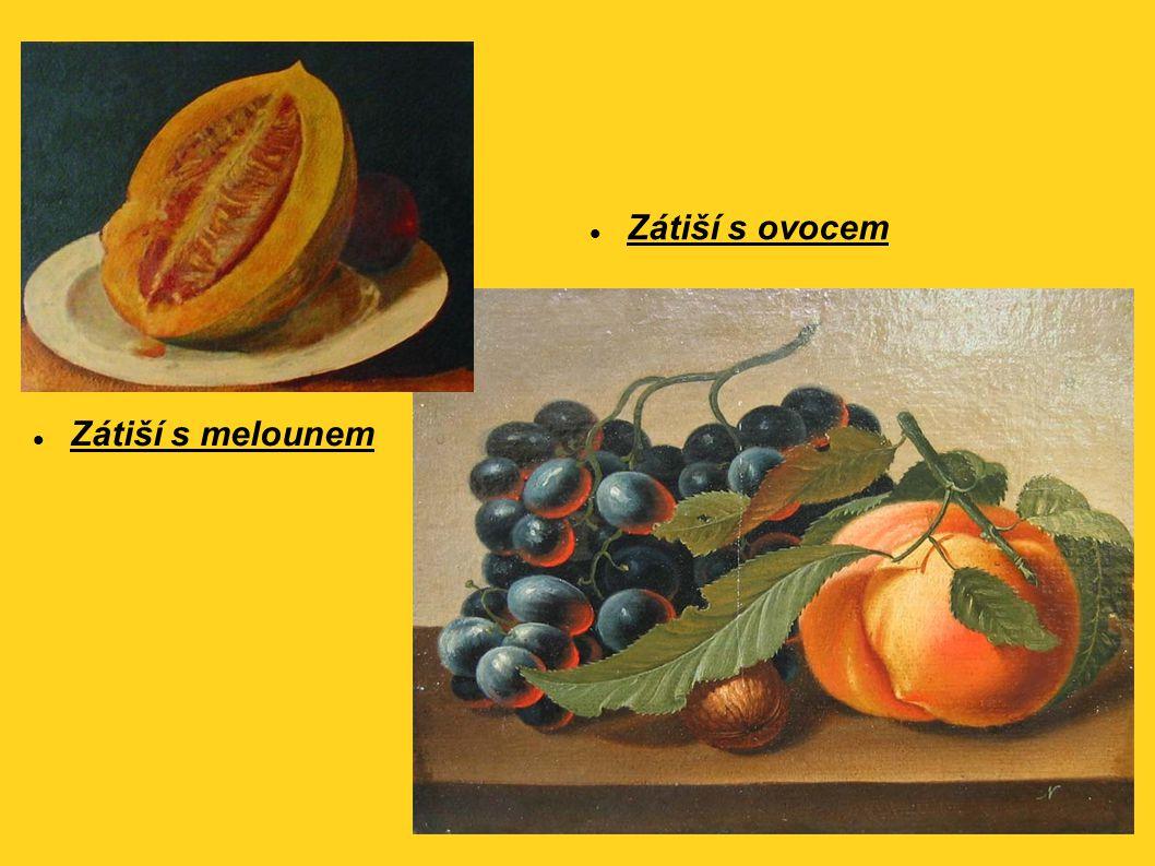 Zátiší s ovocem Zátiší s melounem