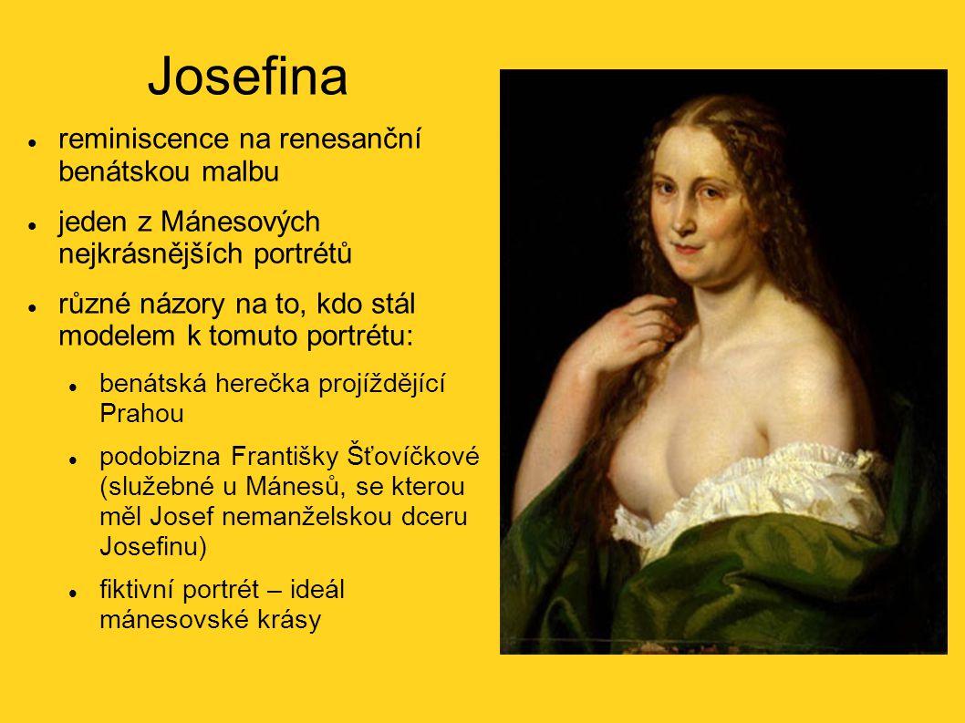 Josefina reminiscence na renesanční benátskou malbu