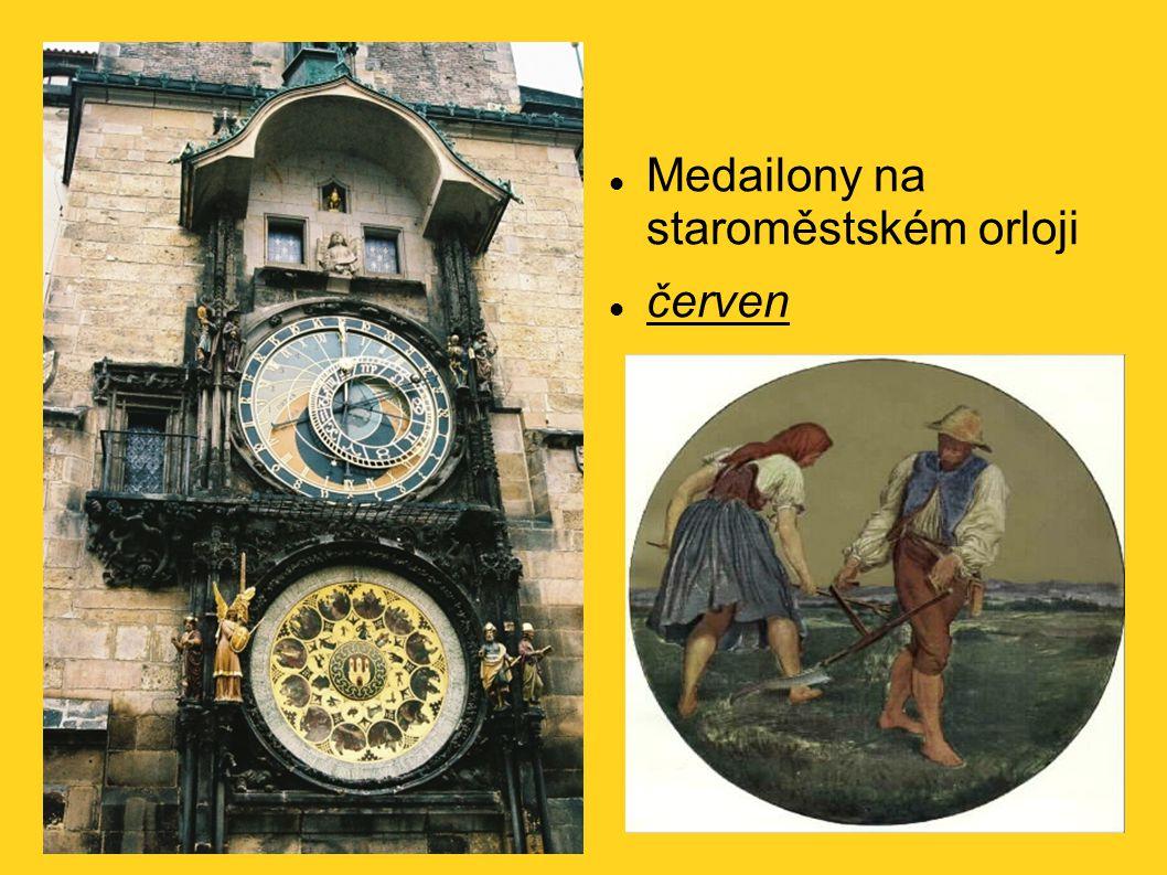 Medailony na staroměstském orloji