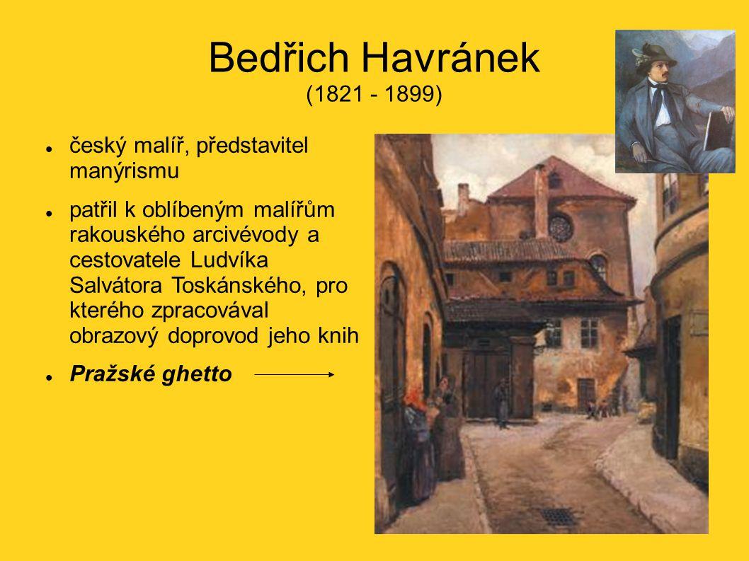 Bedřich Havránek (1821 - 1899) český malíř, představitel manýrismu