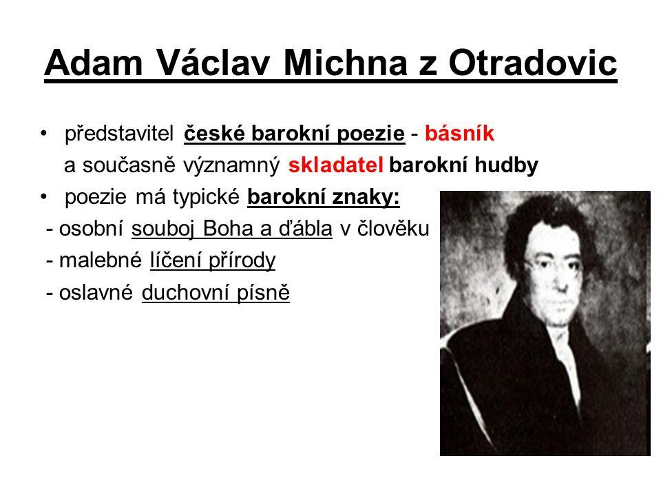 Adam Václav Michna z Otradovic