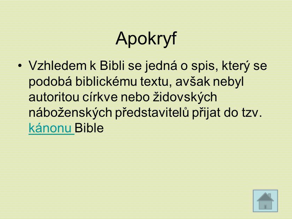 Apokryf