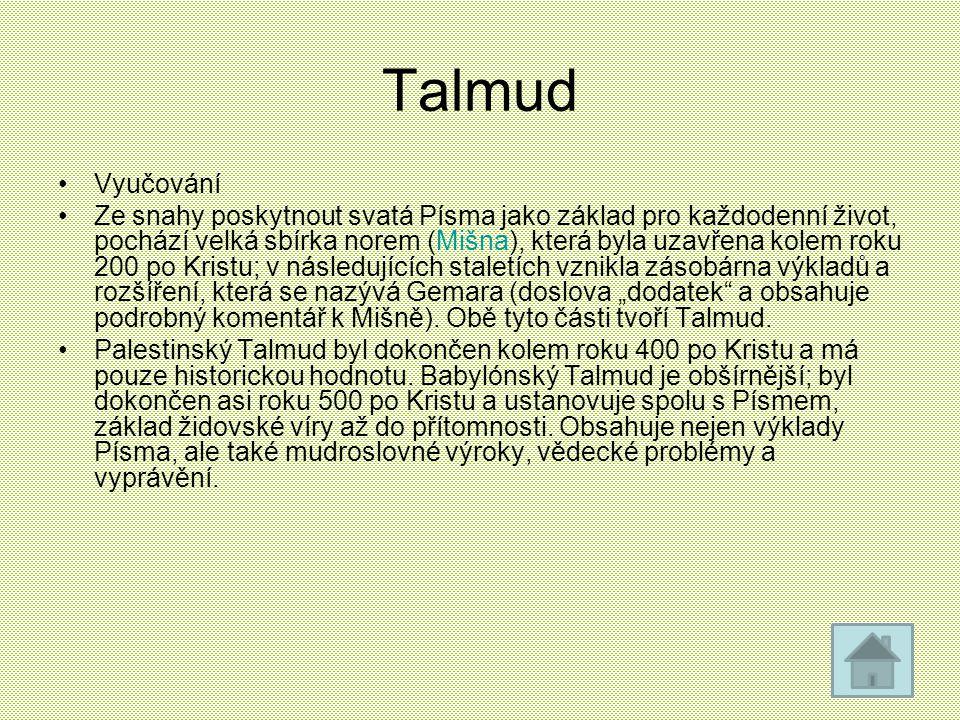 Talmud Vyučování.