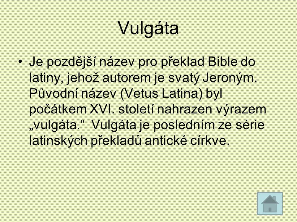Vulgáta