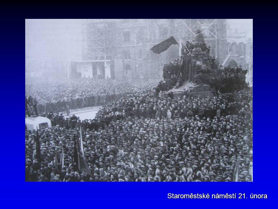 Staroměstské náměstí 21. února
