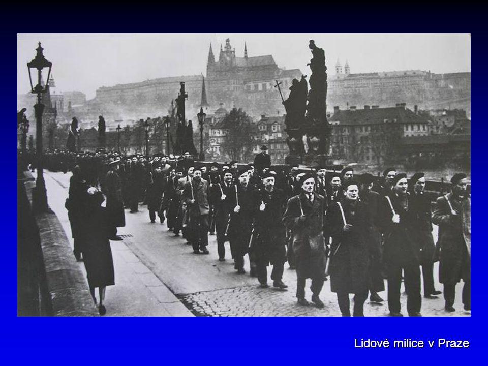 Lidové milice v Praze