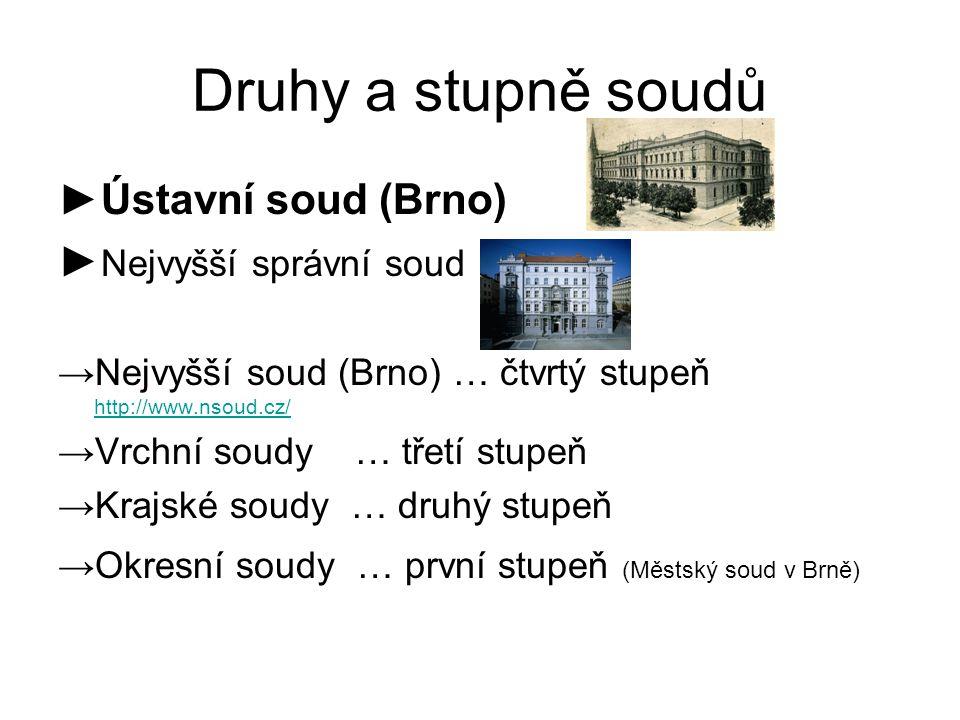Druhy a stupně soudů ►Ústavní soud (Brno) ►Nejvyšší správní soud