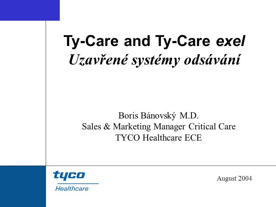 Ty-Care and Ty-Care exel Uzavřené systémy odsávání