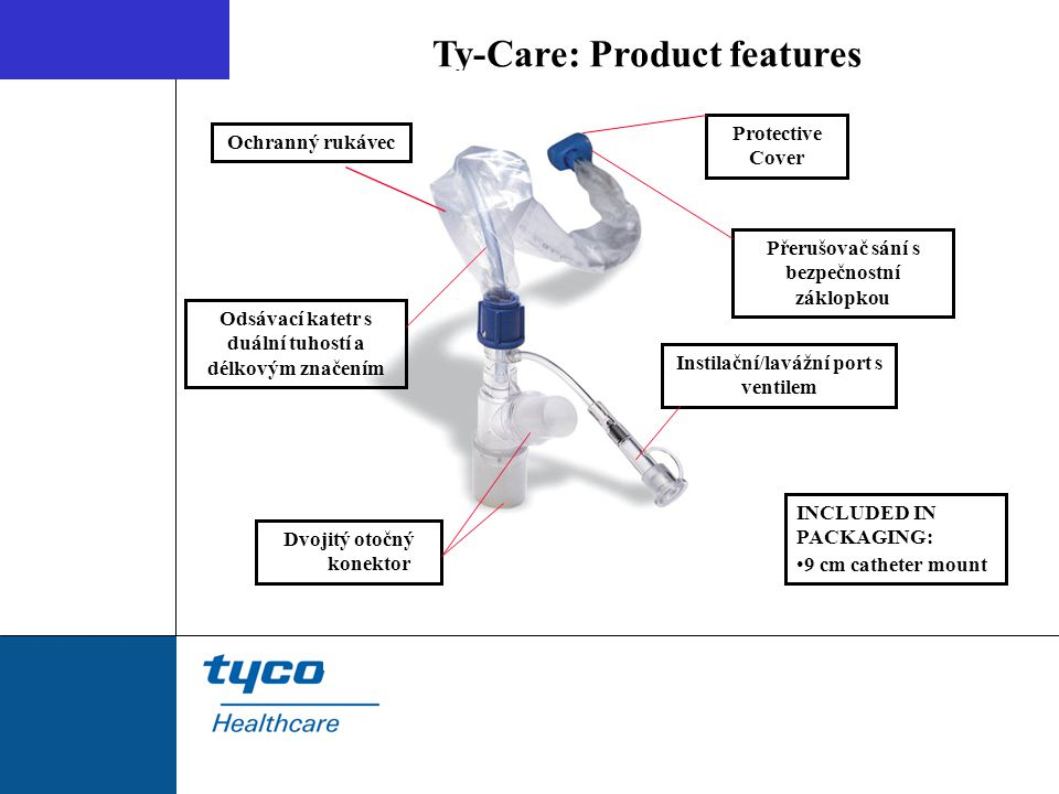 Ty-Care: Product features