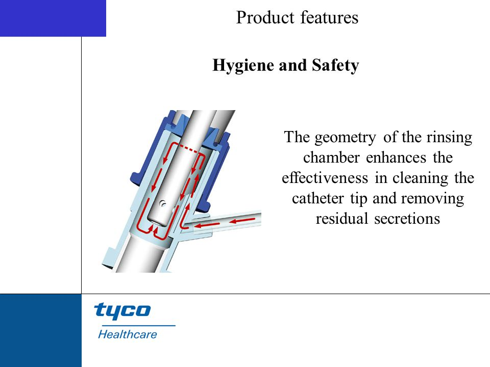 Product features Hygiene and Safety