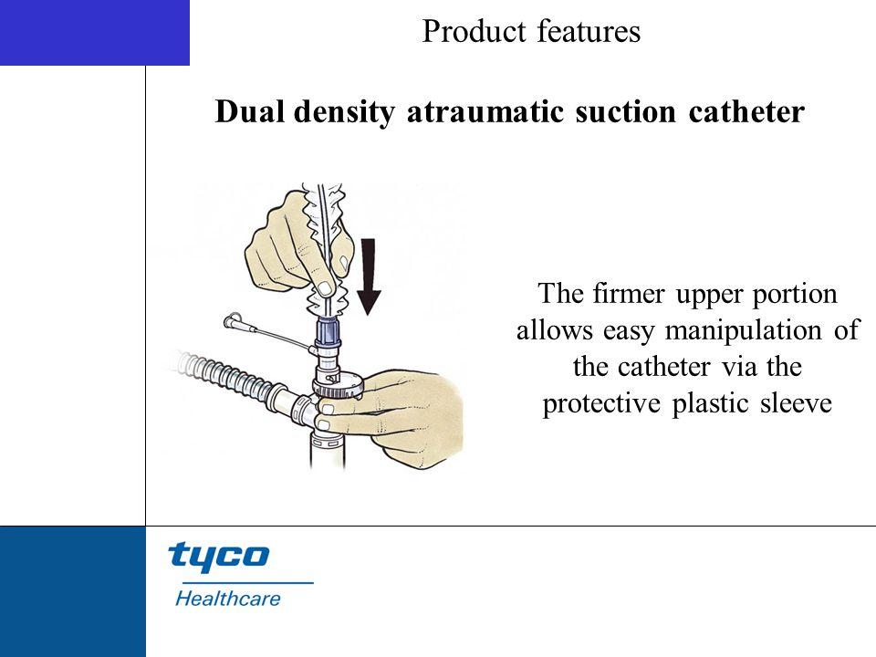 Dual density atraumatic suction catheter