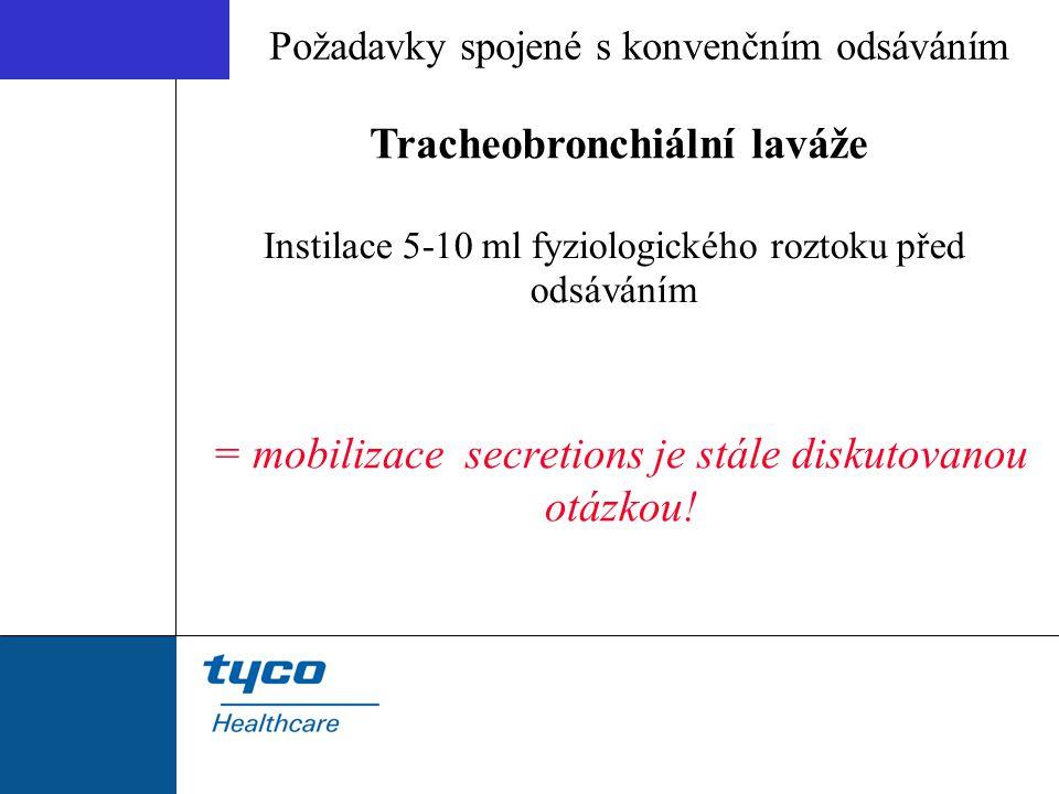Tracheobronchiální laváže