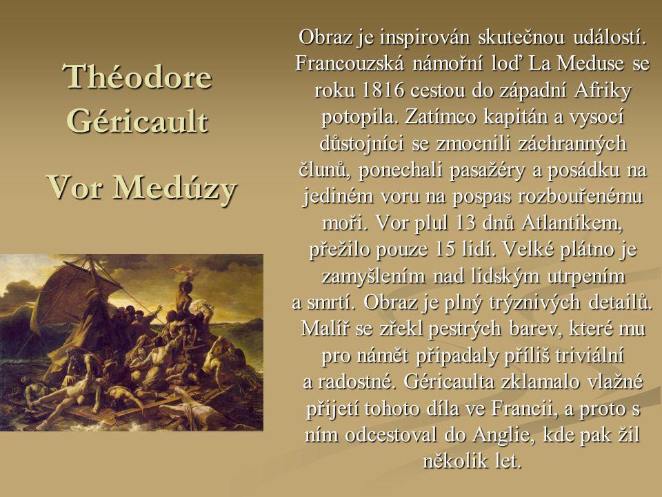 Théodore Géricault Vor Medúzy