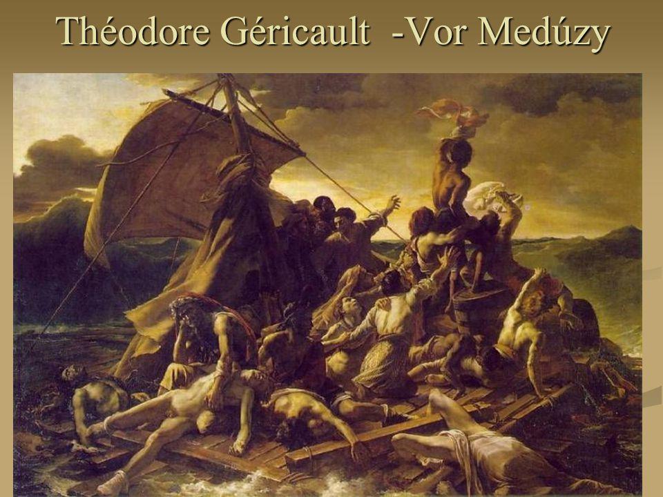 Théodore Géricault -Vor Medúzy