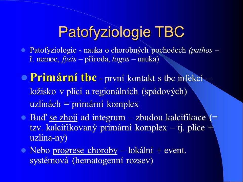 Patofyziologie TBC Patofyziologie - nauka o chorobných pochodech (pathos – ř. nemoc, fysis – příroda, logos – nauka)