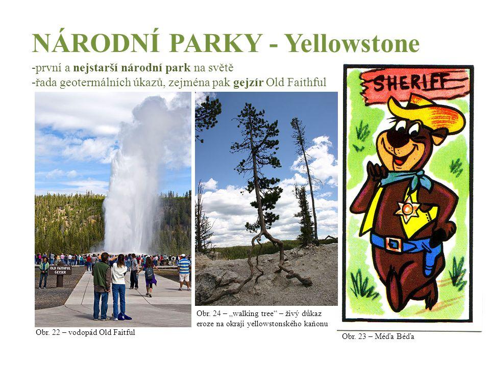 NÁRODNÍ PARKY - Yellowstone