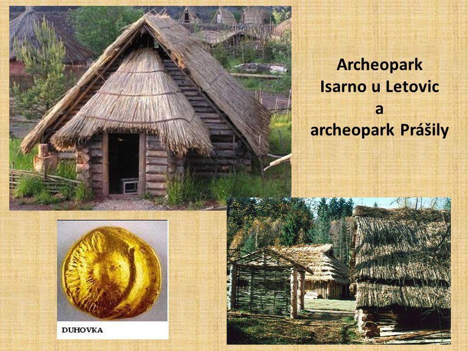 Archeopark Isarno u Letovic a archeopark Prášily