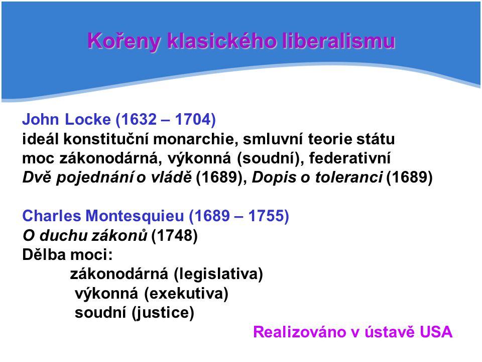 Kořeny klasického liberalismu