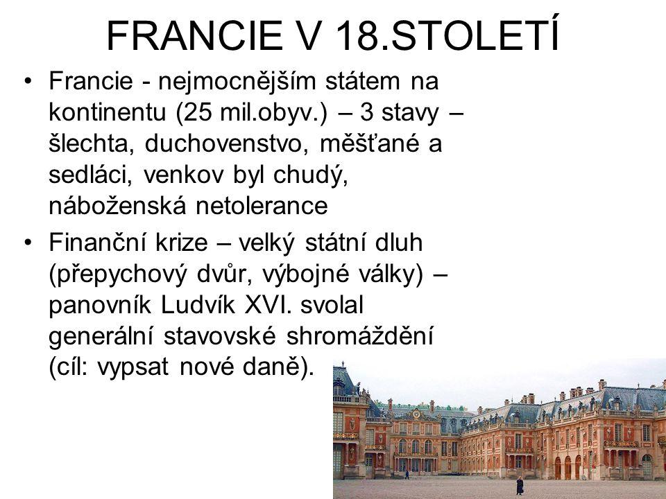 FRANCIE V 18.STOLETÍ
