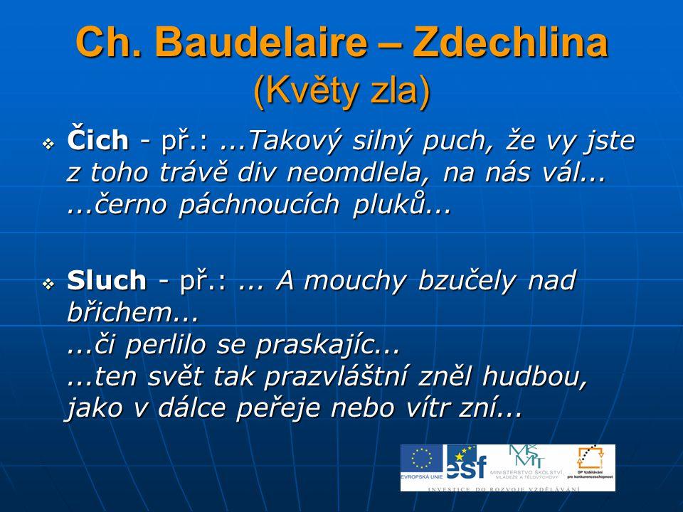 Ch. Baudelaire – Zdechlina (Květy zla)