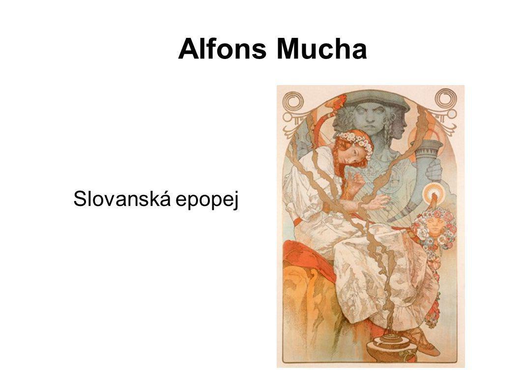Alfons Mucha Slovanská epopej