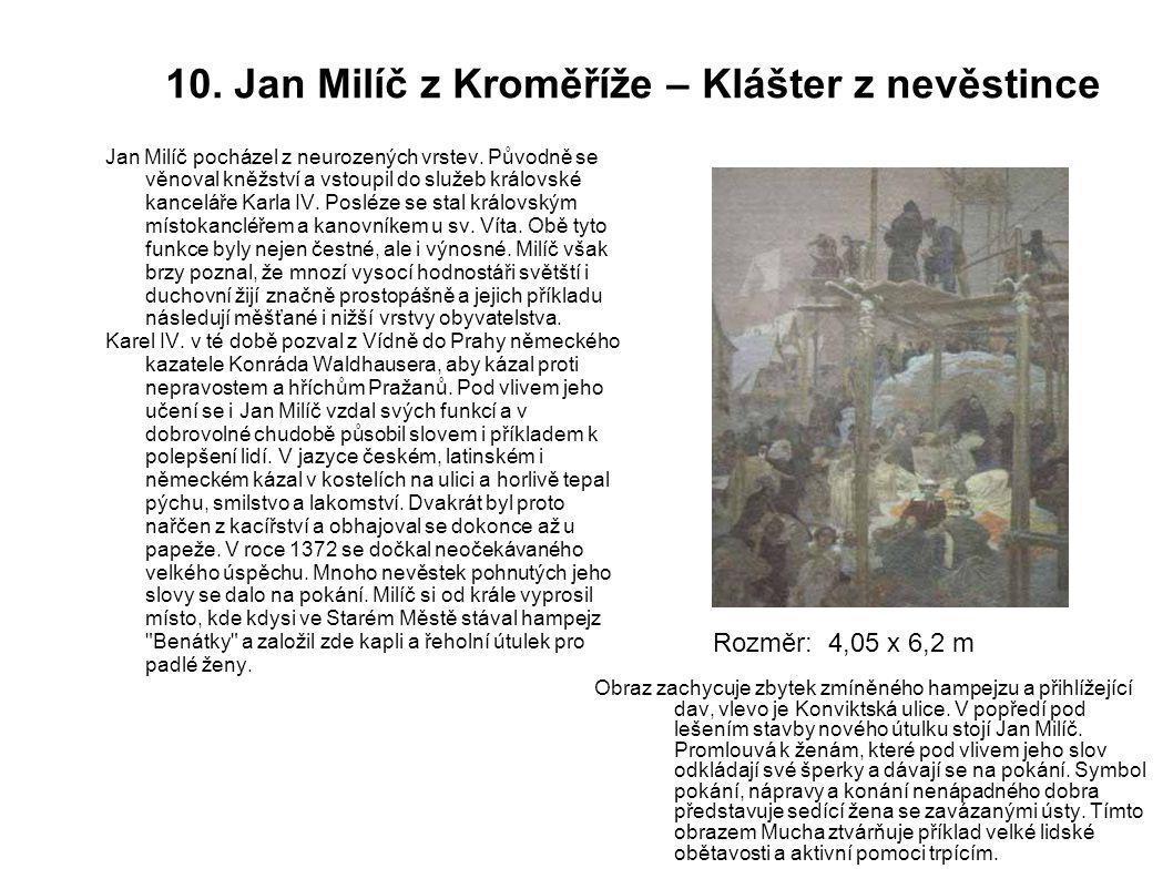 10. Jan Milíč z Kroměříže – Klášter z nevěstince