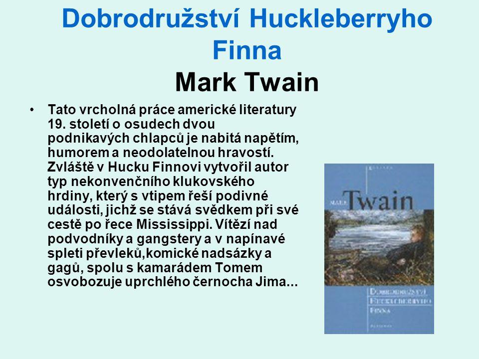 Dobrodružství Huckleberryho Finna Mark Twain