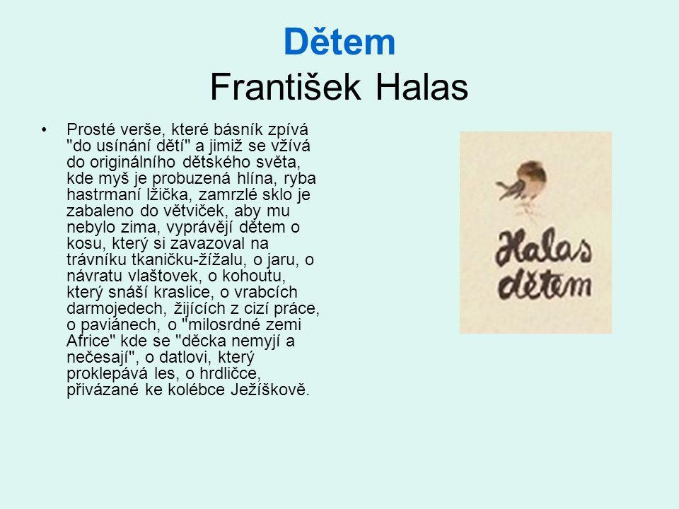 Dětem František Halas