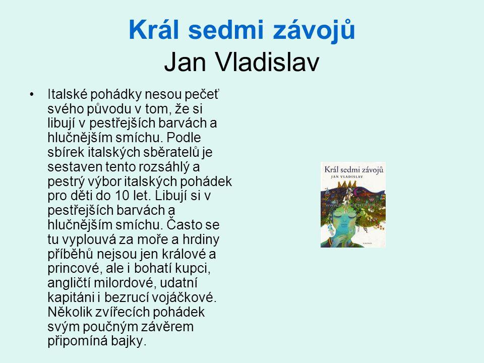 Král sedmi závojů Jan Vladislav