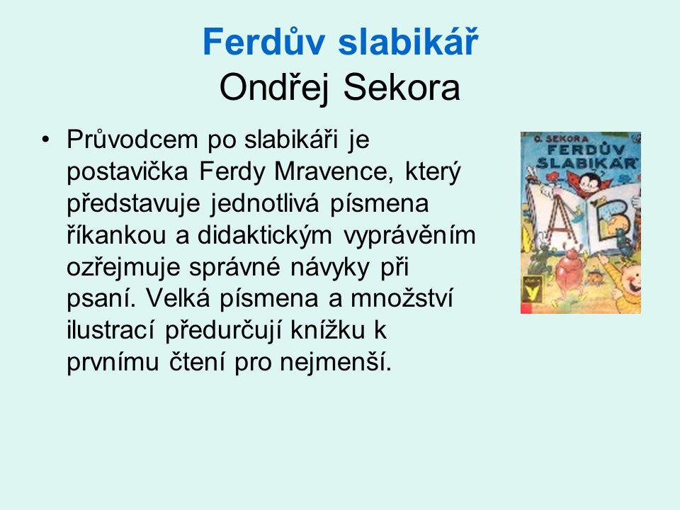 Ferdův slabikář Ondřej Sekora