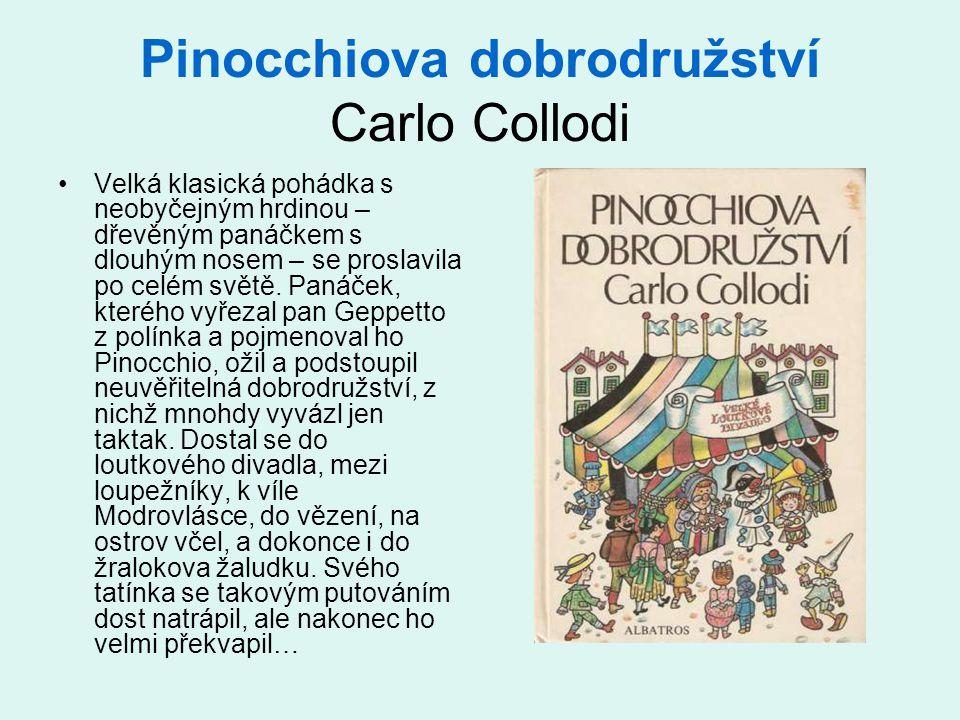 Pinocchiova dobrodružství Carlo Collodi