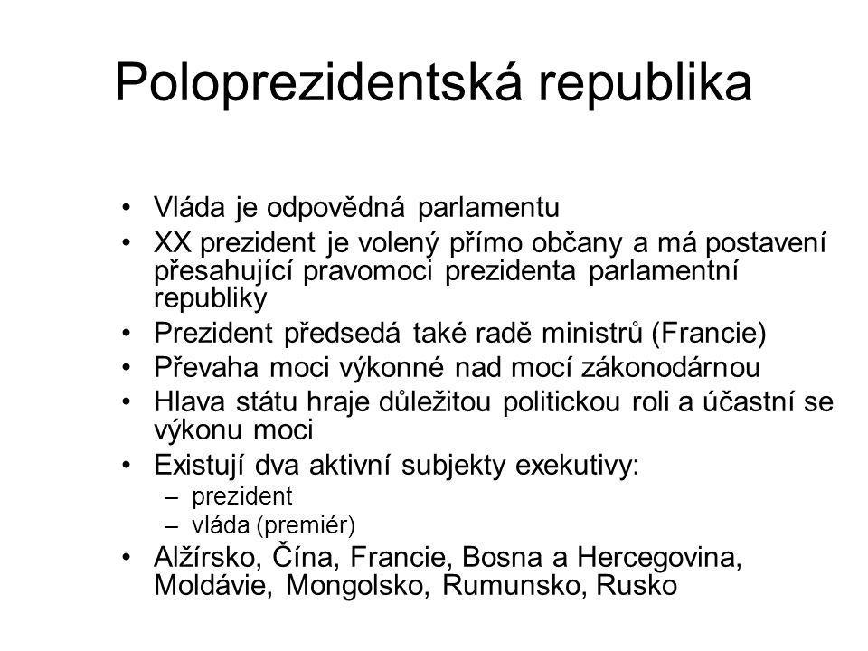 Poloprezidentská republika