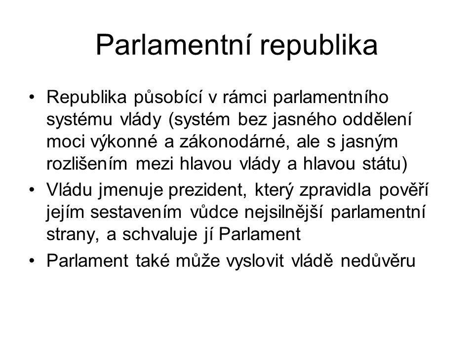 Parlamentní republika