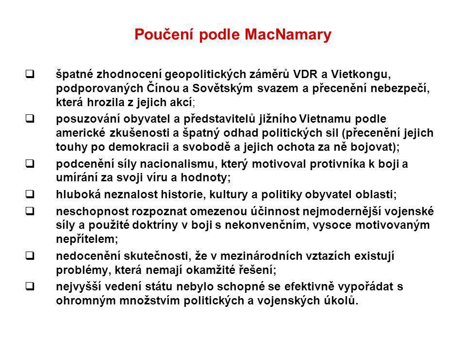 Poučení podle MacNamary