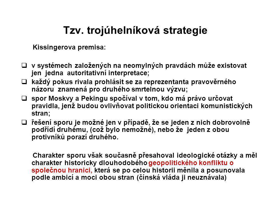 Tzv. trojúhelníková strategie