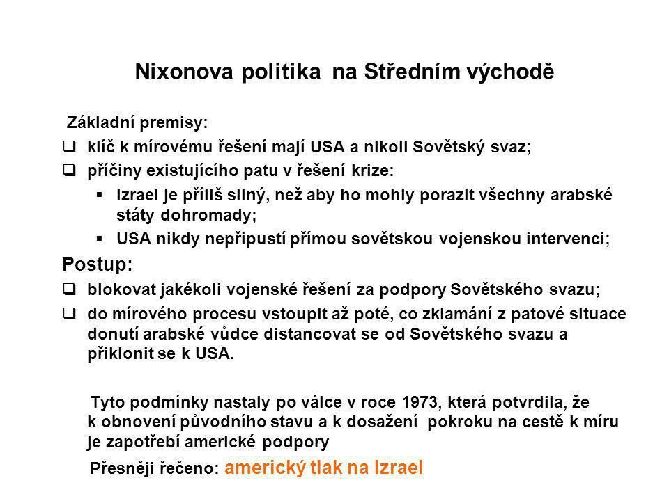 Nixonova politika na Středním východě