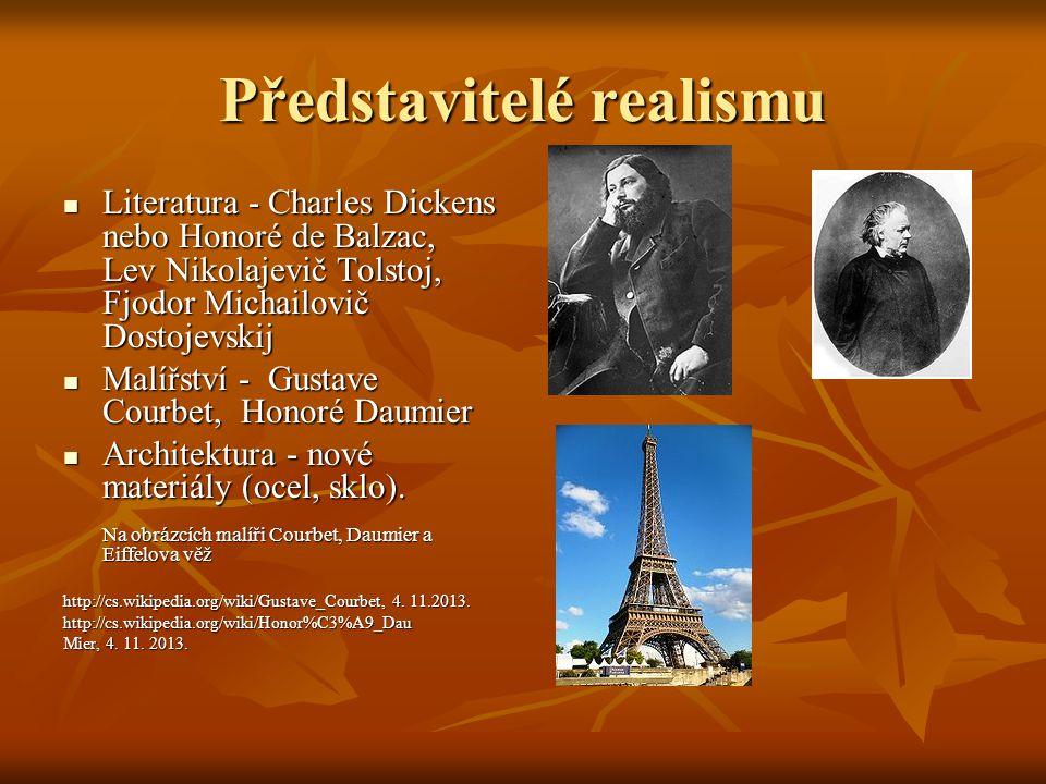 Představitelé realismu