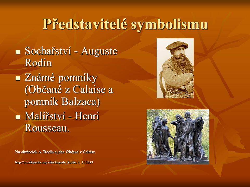 Představitelé symbolismu