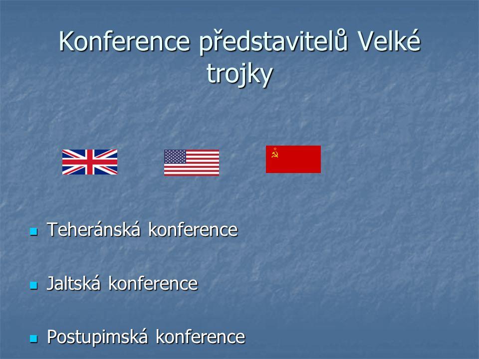 Konference představitelů Velké trojky