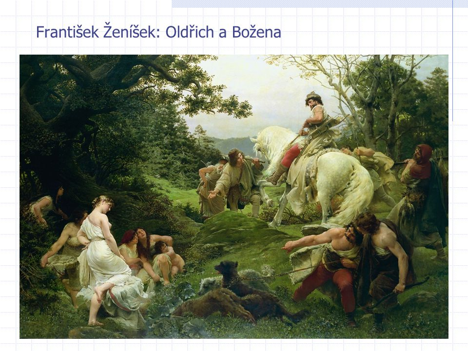 František Ženíšek: Oldřich a Božena