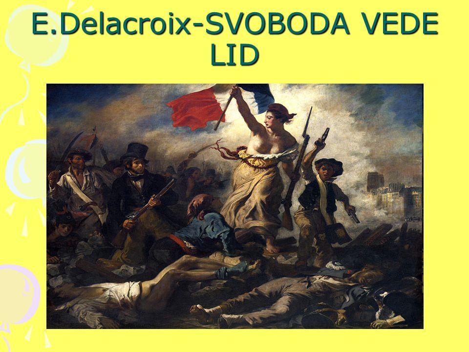 E.Delacroix-SVOBODA VEDE LID