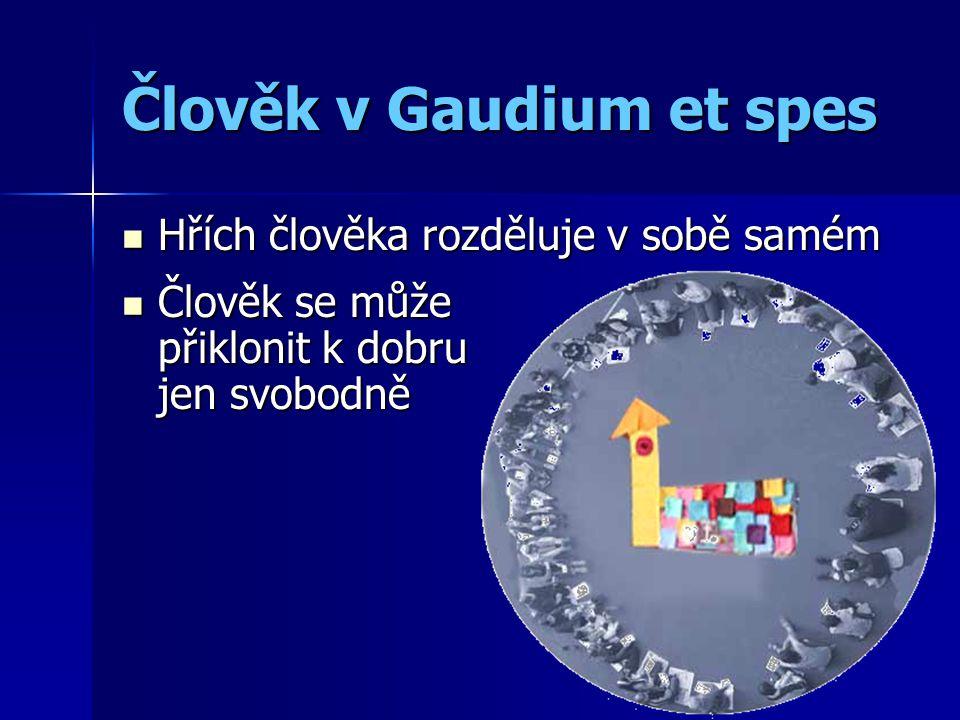 Člověk v Gaudium et spes