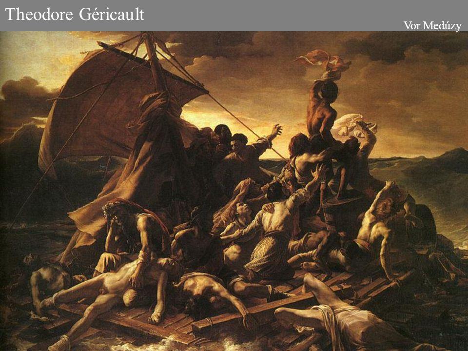 Theodore Géricault Vor Medúzy